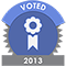 Voted in EcommerceBytes 2013 survey